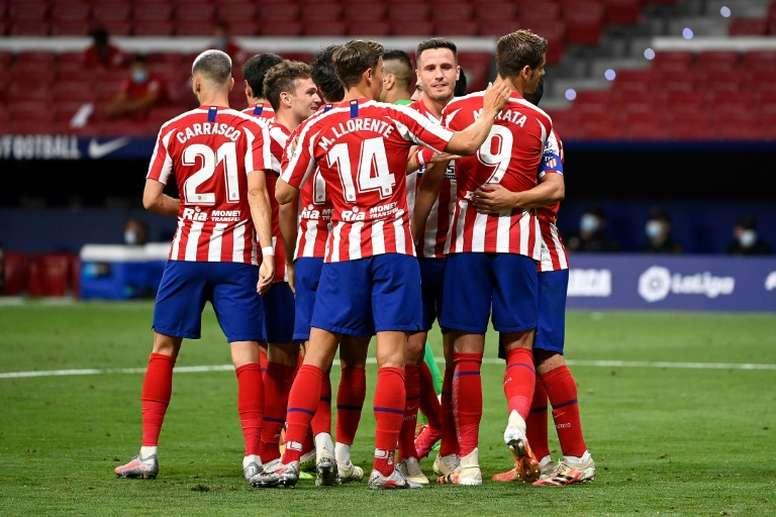 El Atleti llegará más lejos que el Madrid esta temporada. AFP/Archivo