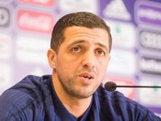 Le Français Karim Belhocine entraîneur intérimaire. AFP