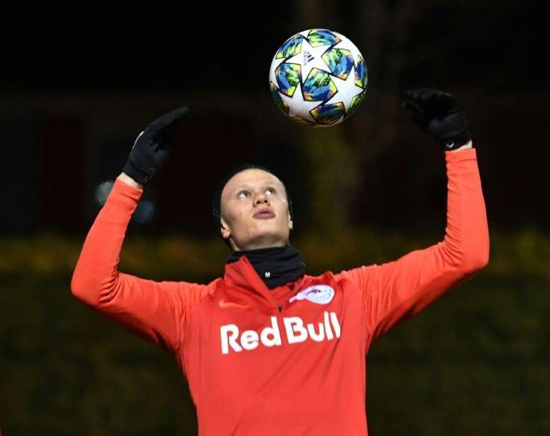 Haaland tiene para elegir: United y Borussia le quieren. AFP