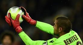 Le gardien argentin de Nice, Walter Benitez, au cours d'un match face au PSG. AFP