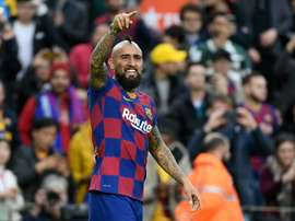 Arturo Vidal vit un vrai cauchemar. AFP