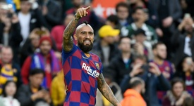 O futuro de Vidal continua incerto. AFP