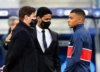 Le formazioni ufficiali di Troyes-Paris Saint-Germain. AFP