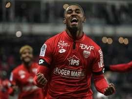 El Dijon recibe al Caen en casa. AFP