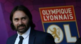 Reynald Pedros anunció su salida del Olympique de Lyon. AFP