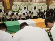 Le monde rend hommage au joueur ivorien. AFP