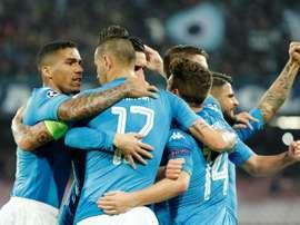 Les Napolitains ont besoin d'un miracle. AFP