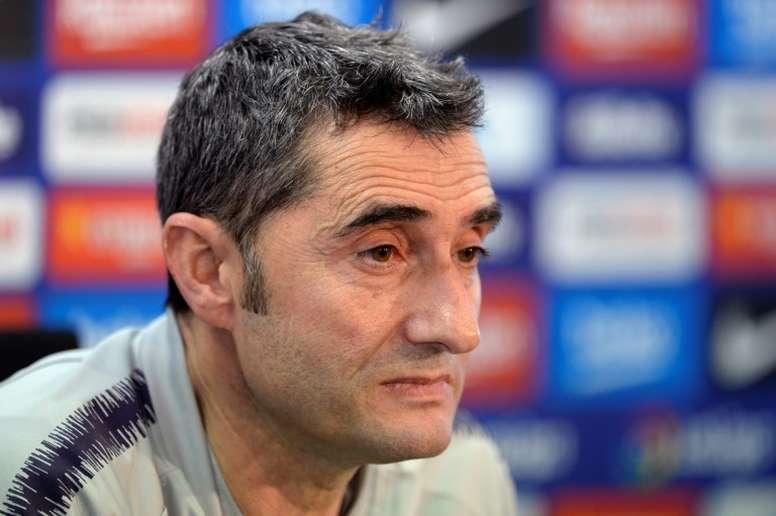 Valverde analizó el primer 'Clásico'. AFP