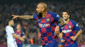 United weigh up Vidal's price. AFP