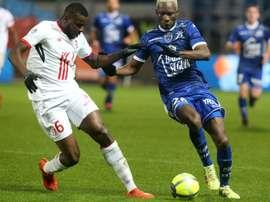 Pas de chance pour Ibrahim Amadou. AFP