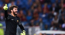 Roma have said goodbye to Alisson on social media. AFP