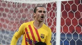 Les Français marquent et le Barça déroule contre Ferencvaros. afp