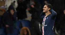 El PSG ultima el acuerdo con el Inter por Icardi. AFP