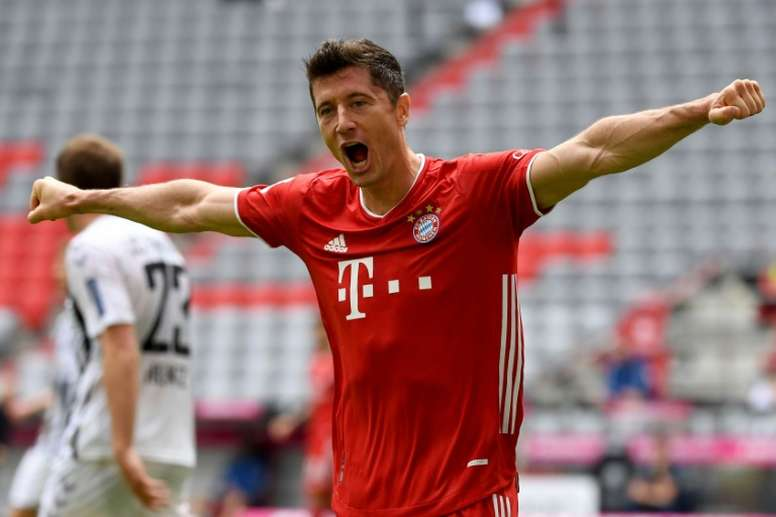 Lewandowski could have signed for Real Madrid. AFP