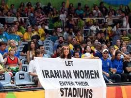 Une Iranienne se suicide après été condamné pour avoir assisté à un match de football. AFP
