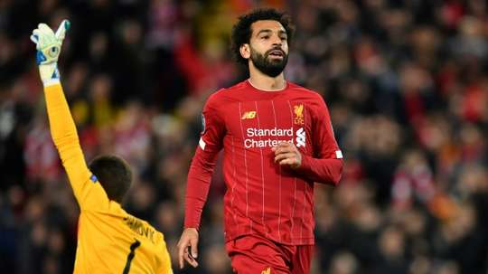 Klopp continua a espera de Salah. AFP