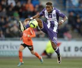 Moubandje veut atterrir en Liga. AFP