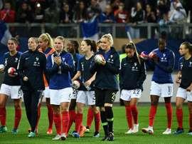 La France a battu 4-0 le Mexique. AFP