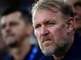 Prosinecki, soutenu par la Fédération, reste sélectionneur de la Bosnie. AFP