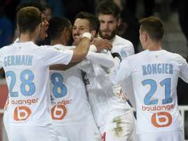 Marseille have had a great season and are second only behind PSG. AFP
