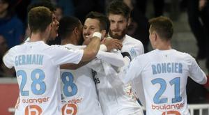 El Marsella firmó su tercera victoria consecutiva. AFP