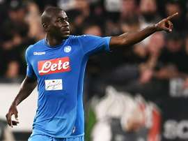 Koulibaly will be an expensive transfer if he leaves. AFP