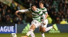 L'Australien Tom Togic avec le Celtic face au PSG, le 12 septembre 2017 à Glasgow. AFP