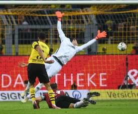Dortmund continue ses victoires. AFP