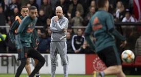Ten Hag pour remplacer Ancelotti à Naples ? AFP