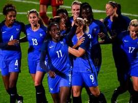 Une séduisante équipe de France domine l'Espagne en amical. AFP