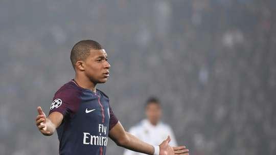 Le Paris Saint-Germain est en danger. AFP