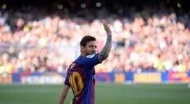 Así fue el intento de Los Angeles Galaxy para fichar a Messi. AFP