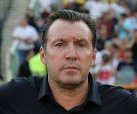 Marc Wilmots entraîneur de l'Iran. AFP