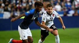 Francia mata el susto a base de goles. AFP
