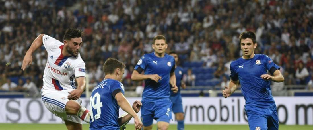 El Dinamo de Zagreb es uno de los rivales del grupo del Sevilla en Champions. AFP/Archivo