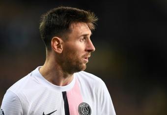 Messi dejó clara su postura con respecto al ser sustituido. AFP