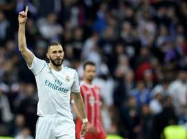 Benzema's absence was expected. AFP