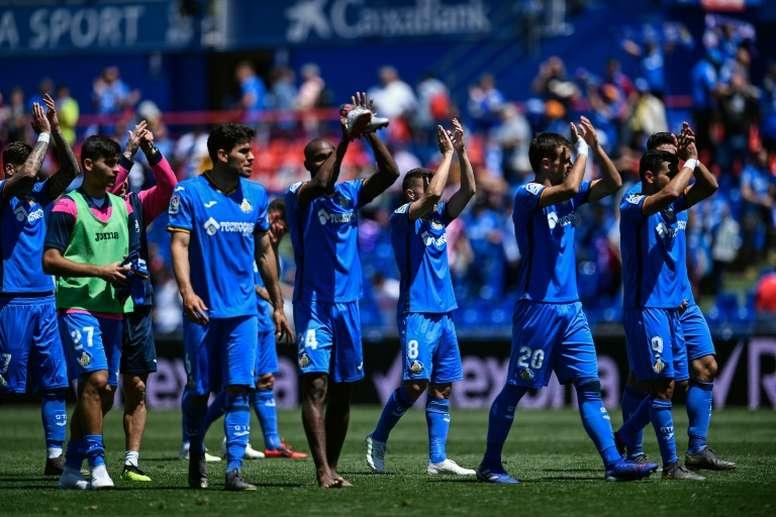 Getafe est à un point de signer la meilleure saison de son histoire. AFP