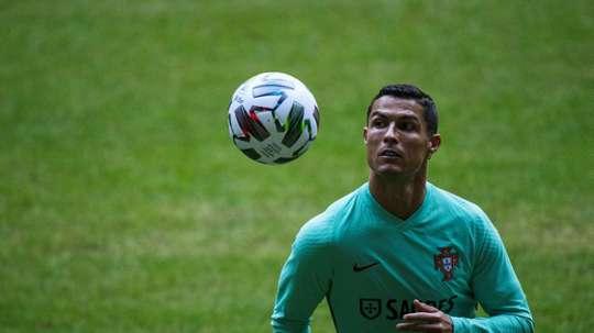 Cristiano Ronaldo décolle pour Turin. afp