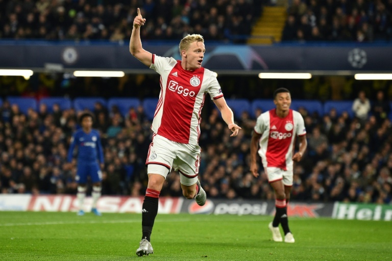 Ajax confirm Man Utd want to sign Van de Beek