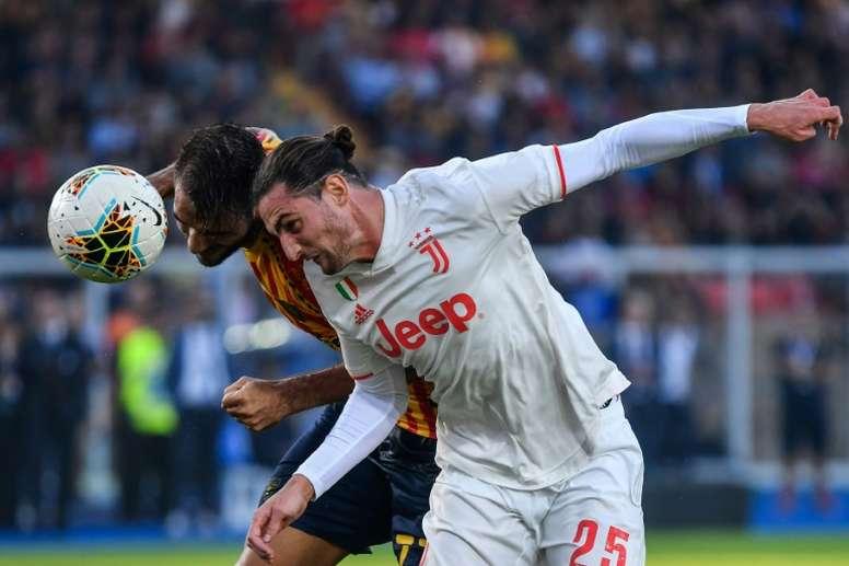 Le gardien de Lille est revenu sur sa rencontre avec Adrien Rabiot. AFP