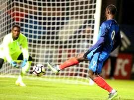 Jean-Kévin Augustin va-t-il faire son grand retour avec les Bleuets ? AFP