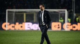 Allegri non sarà più l'allenatore della Juventus. AFP