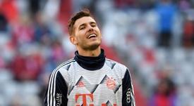 Lucas Hernandez se sent bien au Bayern. AFP