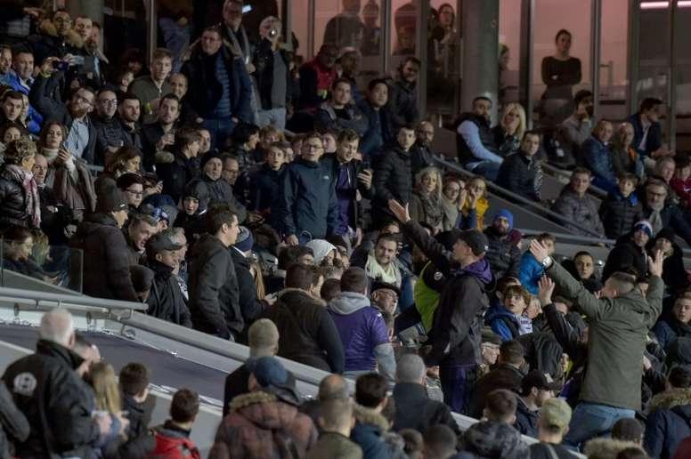 Ligue 1: des ultras toulousains tentent d'envahir la tribune présidentielle. AFP