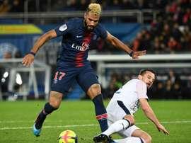 Choupo-Moting est bien titulaire face à Nîmes. AFP