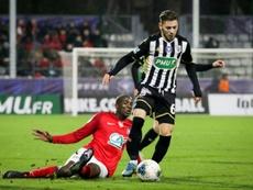 Un joueur d'Angers de nouveau en garde à vue pour exhibition sexuelle. AFP
