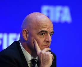 A FIFA, mais ambiciosa que nunca. AFP