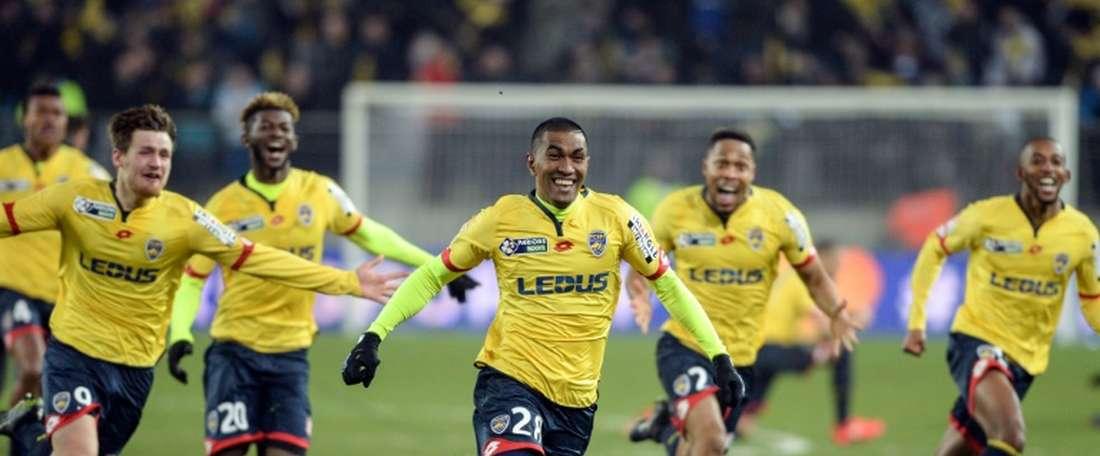 El Sochaux pierde a su portero suplente por lesión. AFP
