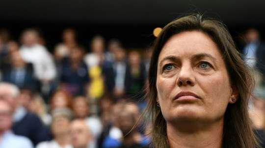 Test au sommet en Autriche pour le retour des Bleues de Diacre. AFP
